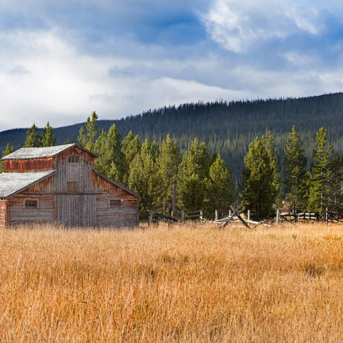 Barn at Trail River Ranch Rocky Mountain National Park