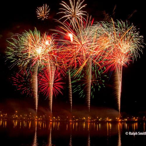 Fireworks City Park c