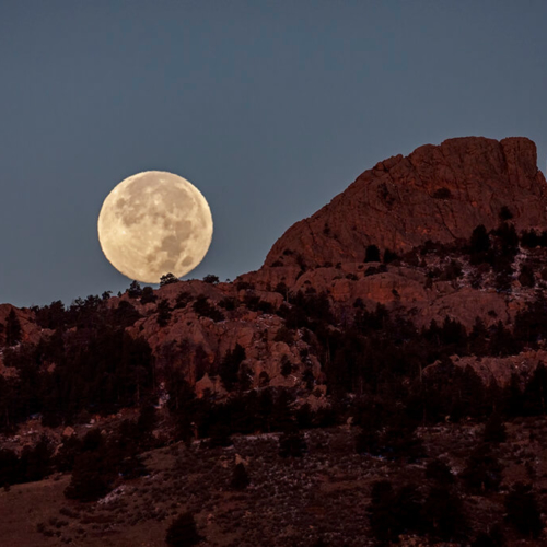 Full Moon and Horsetooth Rock0