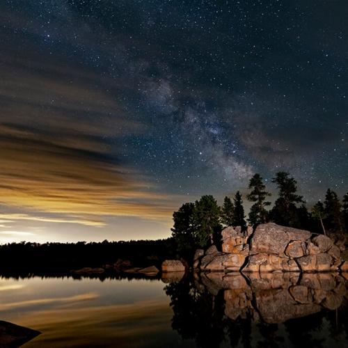 Milky Way over Dowdy Lake 2