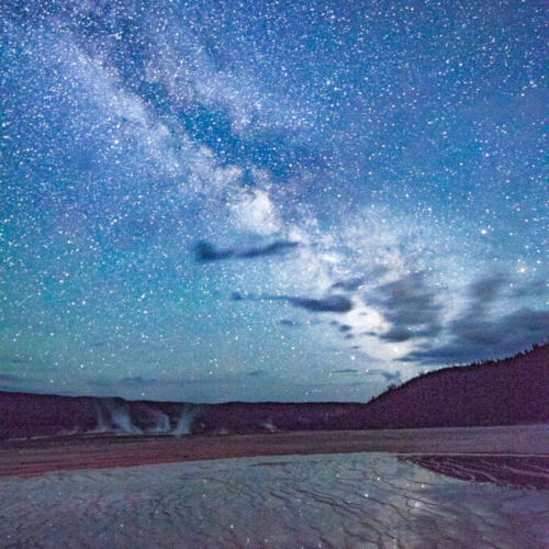 Milky Way over Prismatic Pool 2