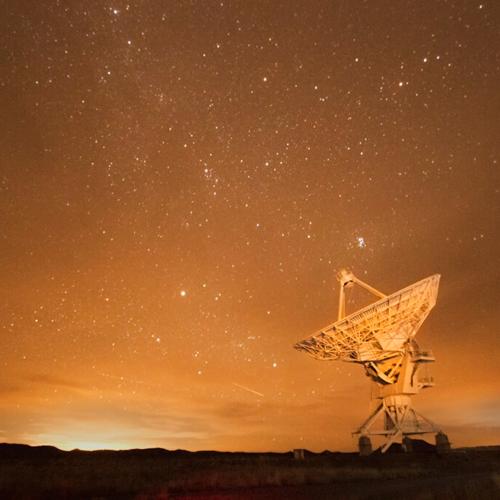 Milky Way with Satellite Dish