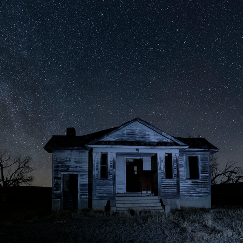 Pawnee Valley School and Milky Way