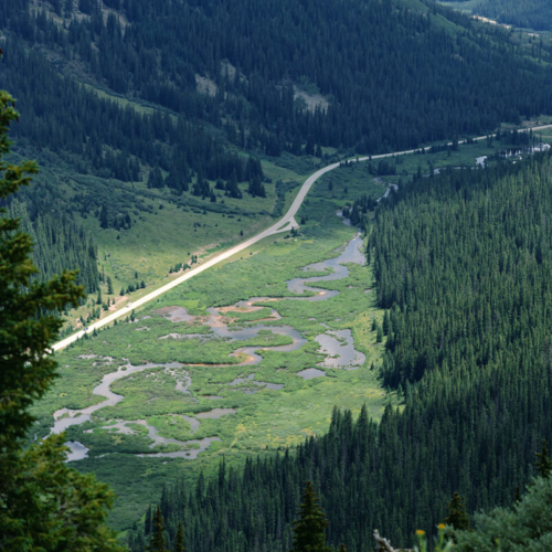 Roaring Fork River Independence Pass