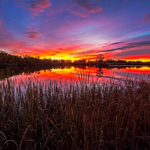 Sunrise Panorama Timberline Pit