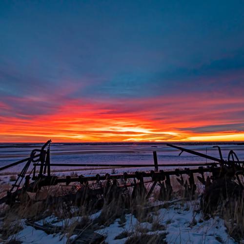 Sunrise from Prairie View