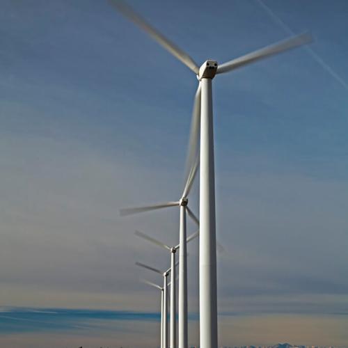 Wind Turbines on Colorado Prairie